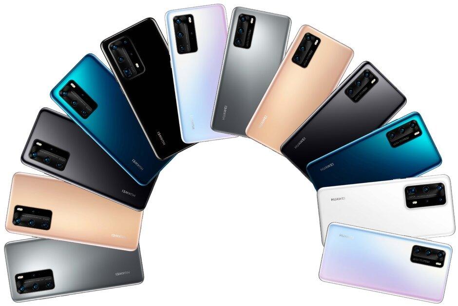Huawei P40 official teaser reveals it's design