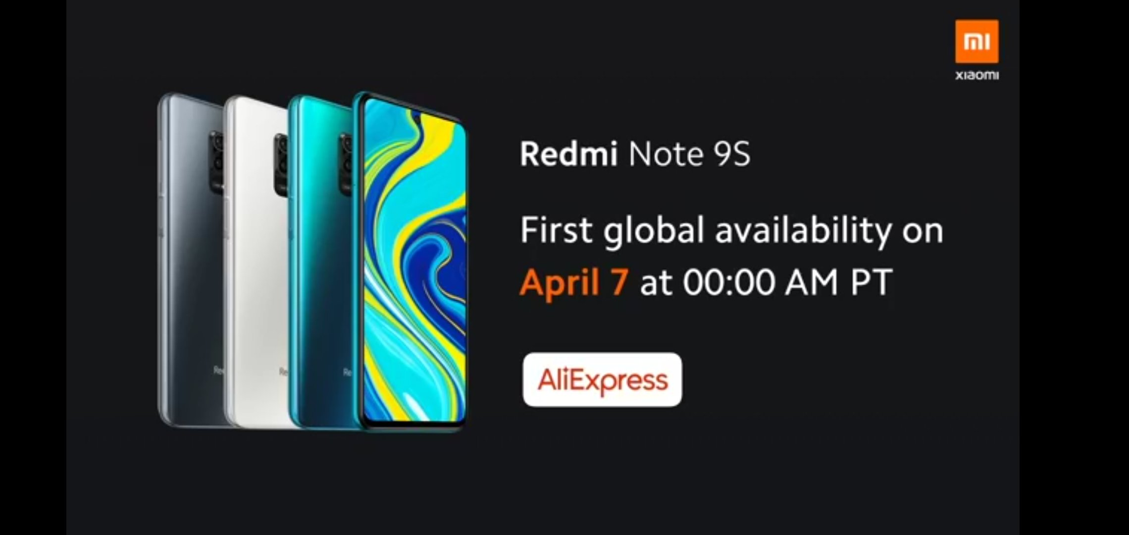 Redmi Note 9S launched for the global market 6