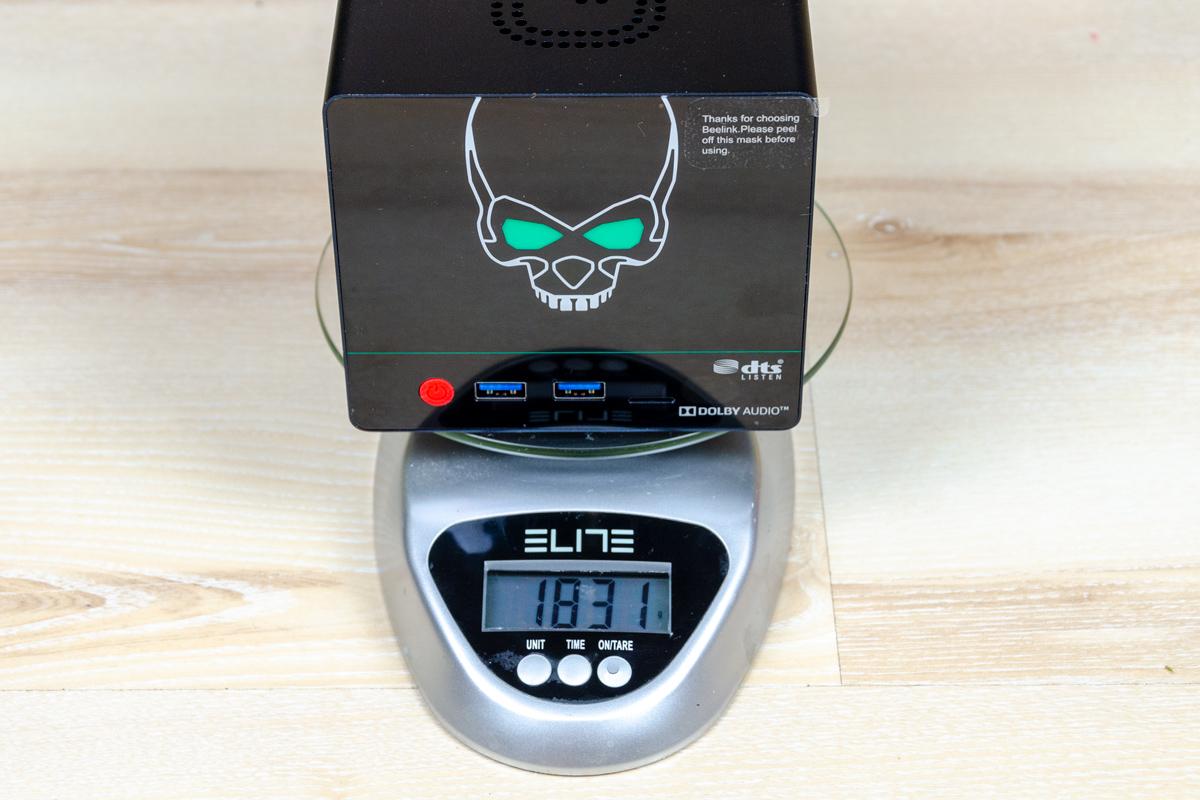 Beelink-GS-King-X-total-weight