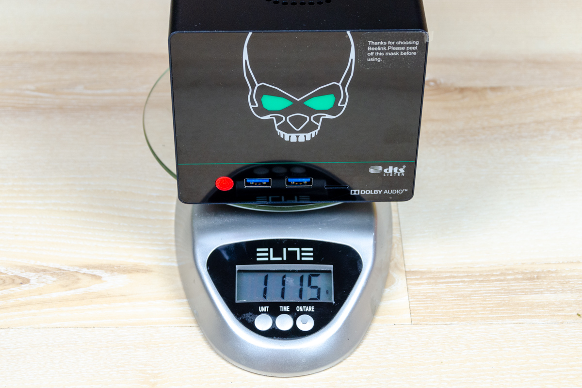 Beelink-GS-King-X-weight-without-hdd
