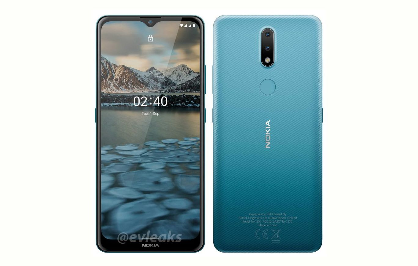 Nokia 2.4 press render leaked